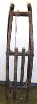Alter Schlitten aus Holz - Rodelschlitten - Deko
