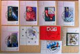 Briefmarkenkonvolut - 15 Stück