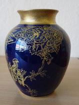 Kleine Vase - Echt Kobalt - Graf Henneberg Ilmenau Porzellan