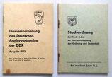 Stadtordnung der Stadt Calau - Gewässerordnung des Deutschen Anglerverbandes der DDR