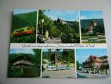 Ansichtskarte - Gruß aus dem schönen Schwarzatal/Thür.Wald