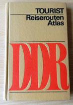 Tourist Reiserouten Atlas - VEB Tourist Verlag Berlin/Leipzig 1979 DDR