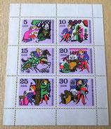 Briefmarkenbogen - Brüderchen und Schwesterchen - DDR