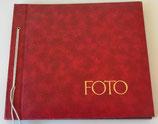 Fotoalbum in Rot - ungenutzt