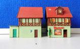 Bäckerei mit kleinem Wohnhaus und Schuppen
