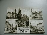 Ansichtskarte - Blumenstadt Erfurt