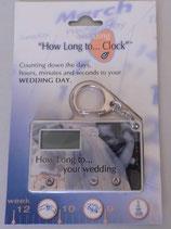 Countdownzähler für die Hochzeit