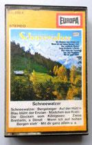 Musikkassette -Schneewalzer - Alfons Zitz - Der Bergsteiger-Chor