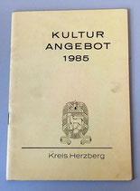 Kulturangebot Kreis Herzberg