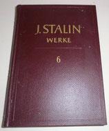 J. Stalin Werke - Band 6 - Dietz Verlag Berlin - 1952