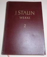 J. Stalin Werke - Band 2 - Dietz Verlag Berlin - 1950
