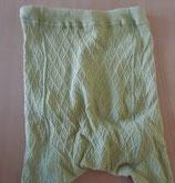 Gelb-grüne Kinderstrumpfhose - Gr. ca. 134