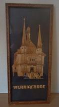 Wandschmuck Holzbild Wernigerode