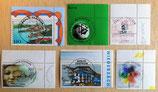 Briefmarkenkonvolut - 21 Stück