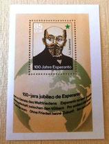 Briefmarke - 100 Jahre Esperanto - DDR