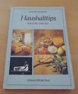 Haushaltstips - Lothar Neumann - Verlag für die Frau DDR