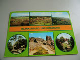 Ansichtskarte - Blankenburg und Umgebung