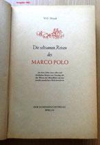Willi Meinck - Die seltsamen Reisen des Marco Polo- Der Kinderbuchverlag Berlin