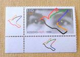 Briefmarke - Kosovo-Hilfe 1999