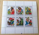 Briefmarkenbogen - Rumpelstilzchen - DDR