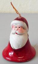 Nikolaus Weihnachstsglöckchen in Rot - 16 Stück