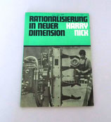 Rationalisierung in neuer Dimension von Harry Nick