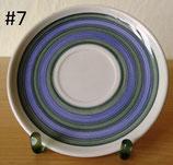 Untertassen - Keramik - verschiedene Designs - DDR