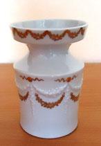 Porzellanvase mit Goldverzierungen- Unterweissbach