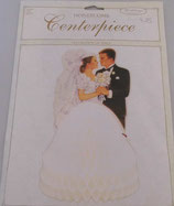 Brautpaar aus Papier