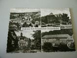 Ansichtskarte - Gruß aus dem Kneippkurort Berggießhübel