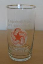 Trinkglas 8. Jugendwettkämpfe der Freundschaft