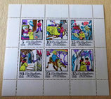 Briefmarkenbogen - Die Schneekönigin von H.C. Andersen - DDR
