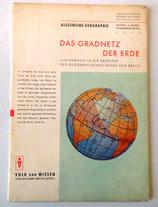 Das Gradnetz der Erde - Volk und Wissen Sammelbücherei Natur und Wissen