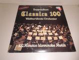 Doppelalbum Classics 100 Weltberühmte Orchester