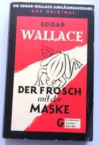Edgar Wallace - Der Frosch mit der Maske - Goldmanns Taschenbuch-Krimi