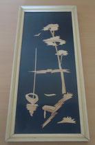 Wandschmuck - Bild aus Holz