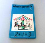 Mathematik Lehrbuch für Klasse 1 DDR