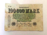100 000 Mark Reichsbanknote