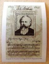 Briefmarke - 150. Geburtstag Johannes Brahms - DDR 1983