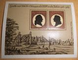 Briefmarke - Goethe- und Schiller-Ehrungen der DDR in den Jahren 1980-1984