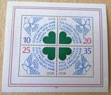 Briefmarke - Glück im neuen Jahr - Ein gutes neues Jahr - DDR 1983