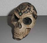 Totenkopf - Schädel - verziert