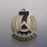 DDR Medaille Aktivist 7- Jahrplan 1960