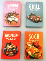 4er Set kleiner Kochbücher - Verlag für die Frau Leipzig