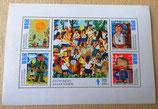 Briefmarkenbogen - Zeichnungen Junger Pioniere - DDR