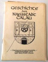 Geschichte der Kreisstadt Calau - Informationsmaterial
