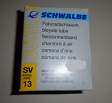 "Schwalbe Fahrradschlauch SV 13 Extra Long 26"" 40/57-559"