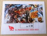 Briefmarke - X. Parteitag der SED - DDR 1981