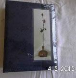 Fotoalbum - dunkelblau - Motiv Rose