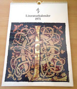 Literaturkalender 1971 - 4. Jahrgang - Aufbau-Verlag Berlin und Weimar 1971